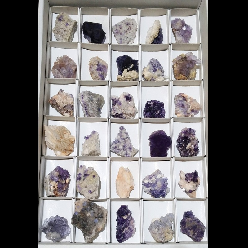 Fluorite Flat (Berbes) 5x7