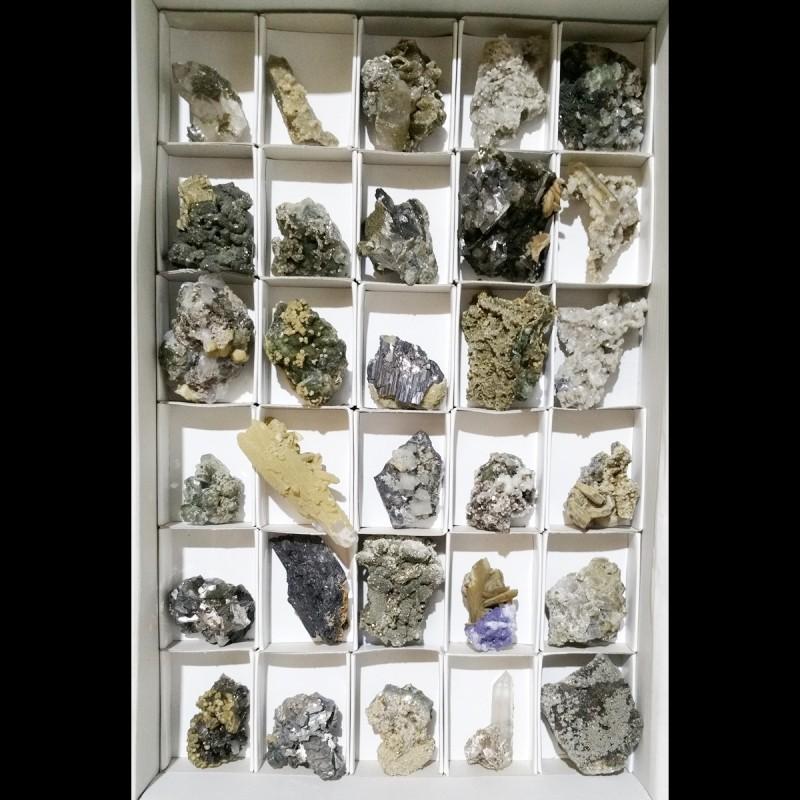 Lote de Minerales (Panasqueira) 5x7