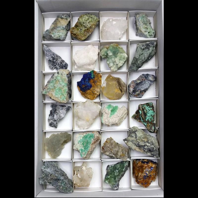 Lote de Minerales Cataluña 6x6