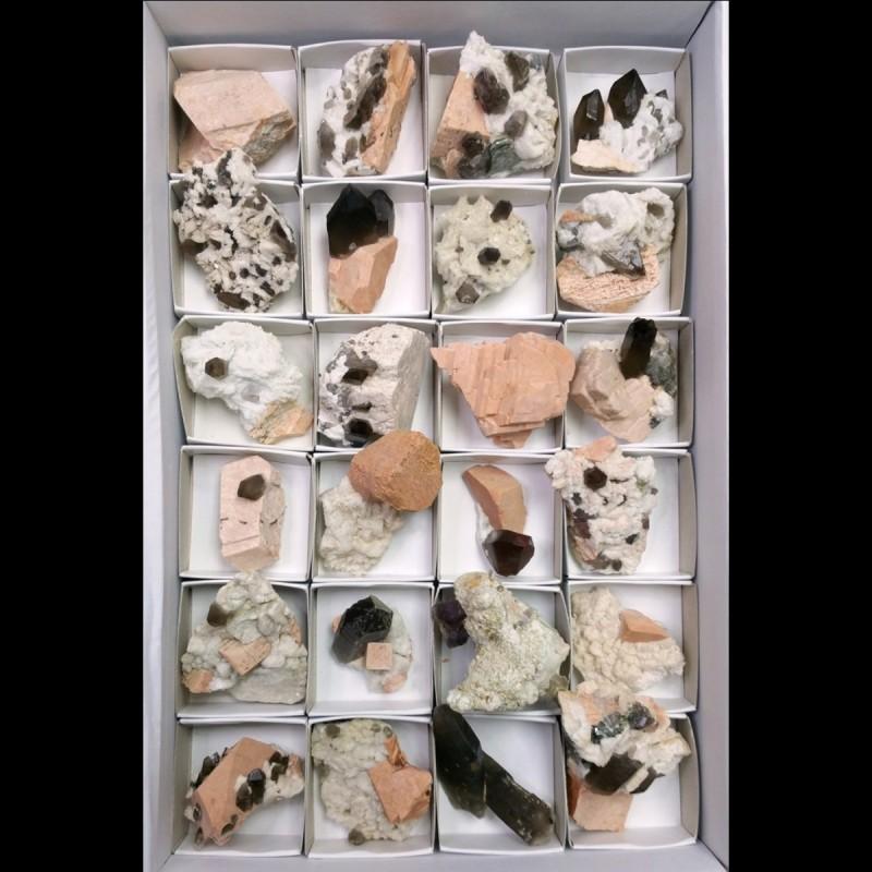 Lote de Minerales (Sils)  6x6