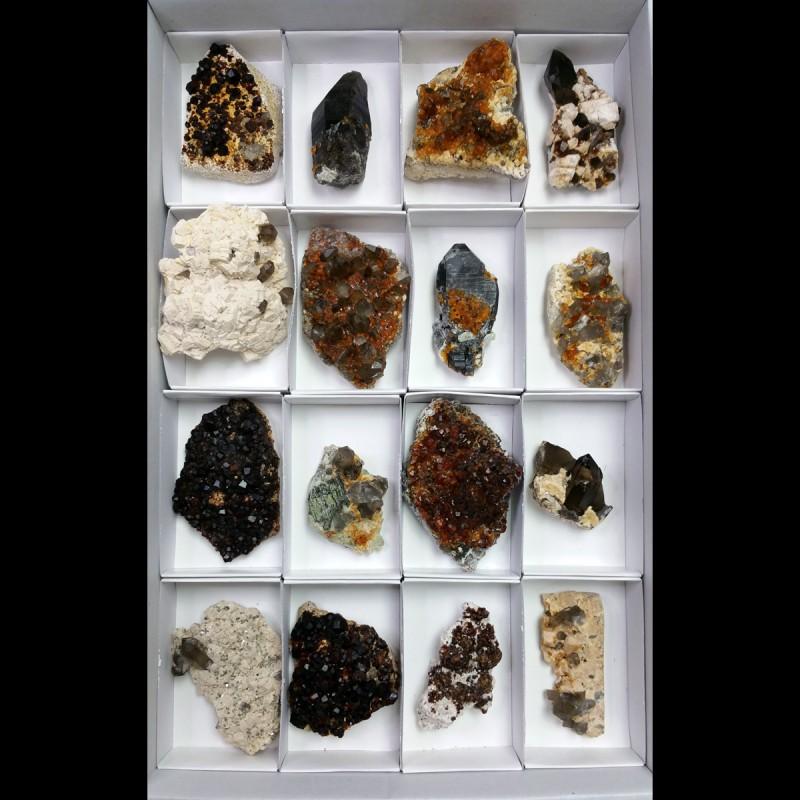 Lote de Granate (China) 6x9